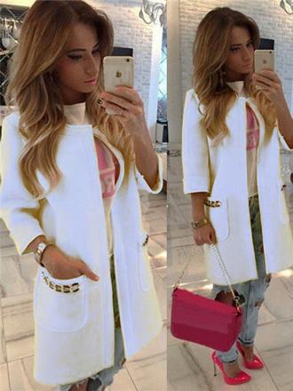 cf56a4c8b6 divatos női hosszított blézer webshop ár: 6.990 Ft